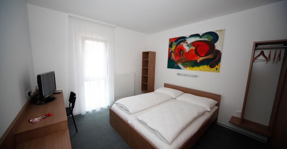 Doppelzimmer im Bernstein-Motel Marchegg